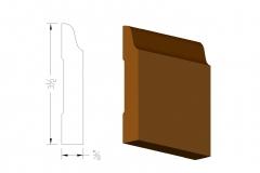 profile420 3.5colonial base board