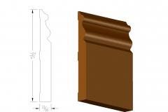 profile445 5.5victorian baseboard