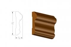 profile545 2.5 chair rail