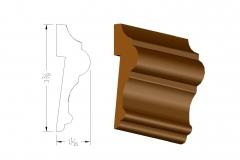 profile549 3.375 rabbeted chair rail