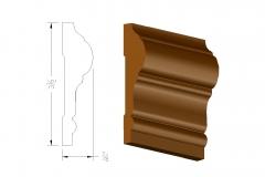 profile550 3.5 chair rail